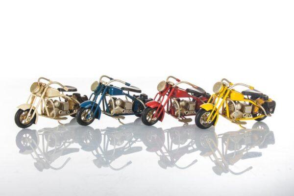 Bomboniera Harley in metallo colori assortiti 11 cm