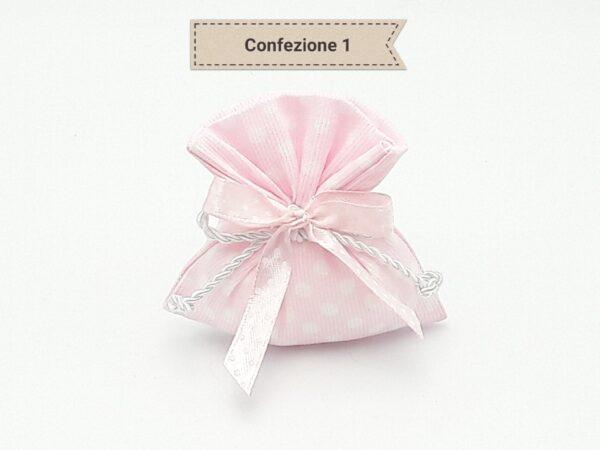 Bomboniera tema farfalle, magnete in porcellana colore rosa forma farfalla.