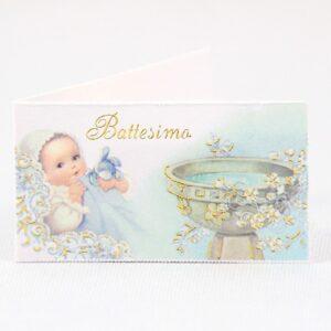 Bigliettini Bomboniere Battesimo