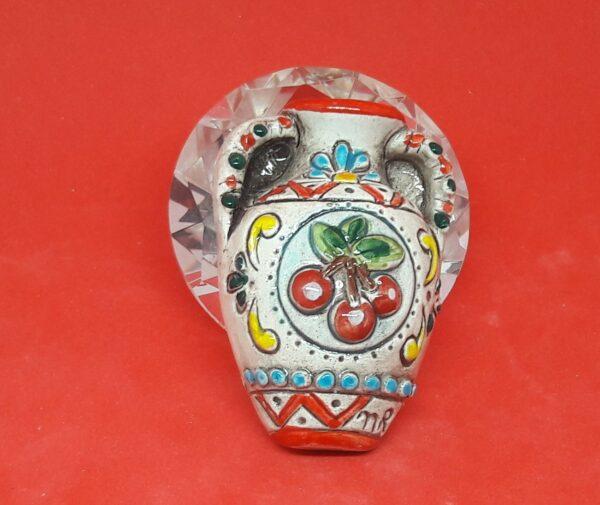 Bomboniera tipica Siciliana magnete brocca in ceramica altezza 6 cm