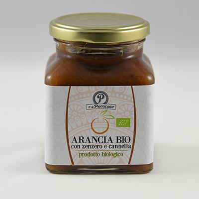 bomboniera gastronomica Marmellata Di Arancia Con Zenzero E Cannella Biologica 220 gr.