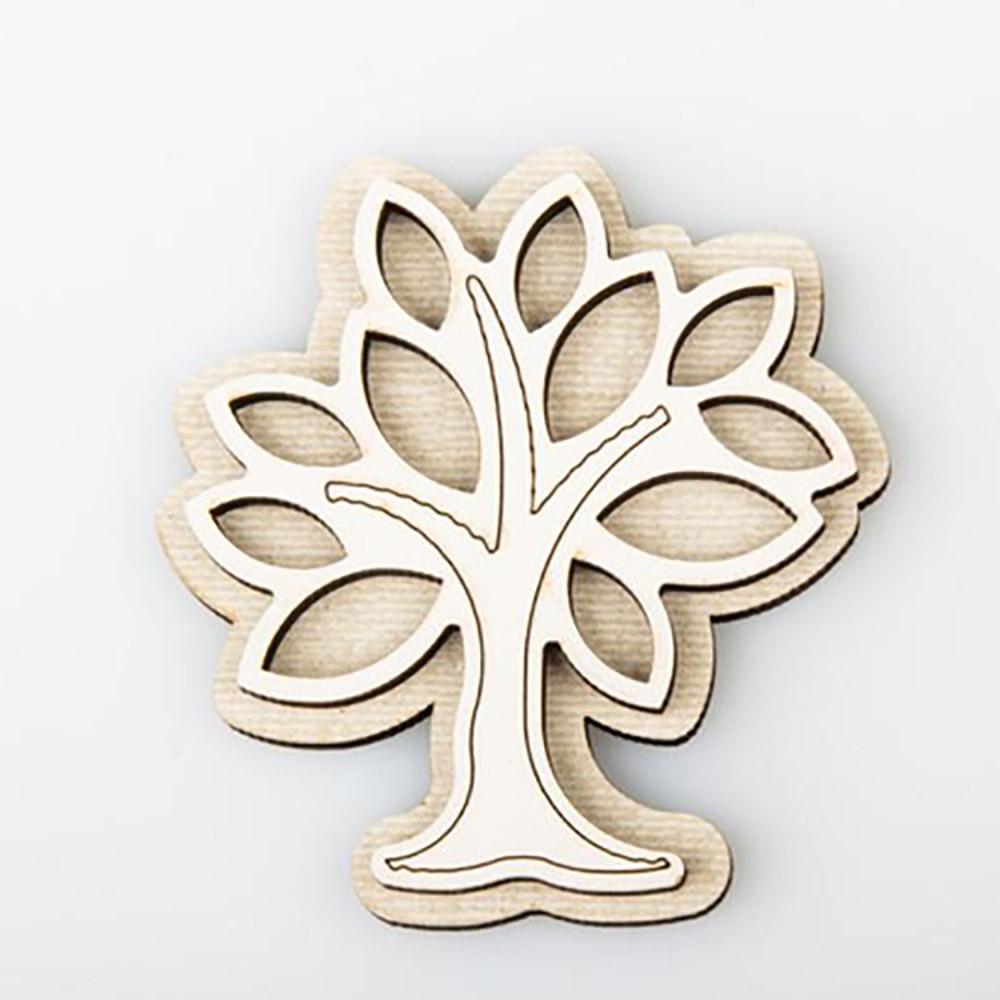 bomboniera solidale albero della vita magnete