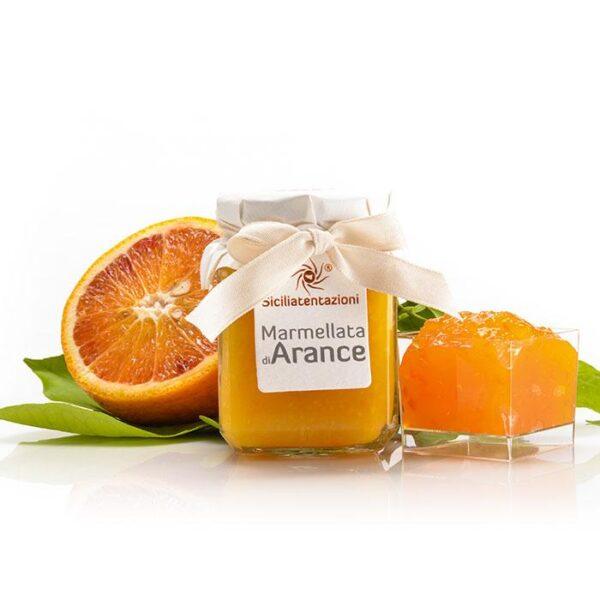 bomboniera gastronomica marmellata di arance 240 gr.