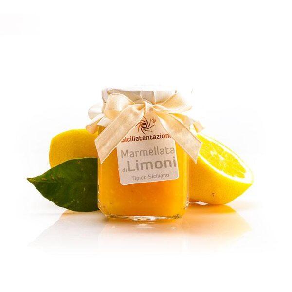 bomboniera gastronomica marmellata di limoni 240 gr.