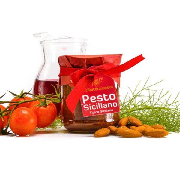 bomboniera gastronomica pesto siciliano 180 gr.