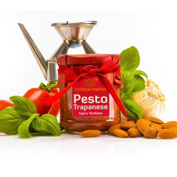 bomboniera gastronomica pesto trapanese 180 gr.