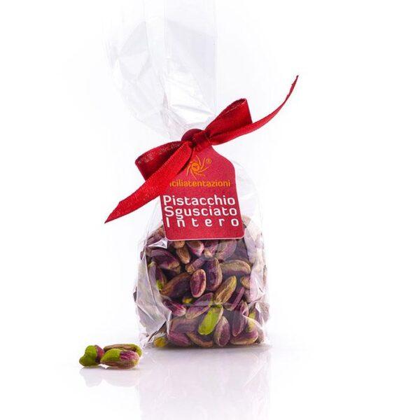 bomboniera gastronomica pistacchio sgusciato intero in busta 100 gr.