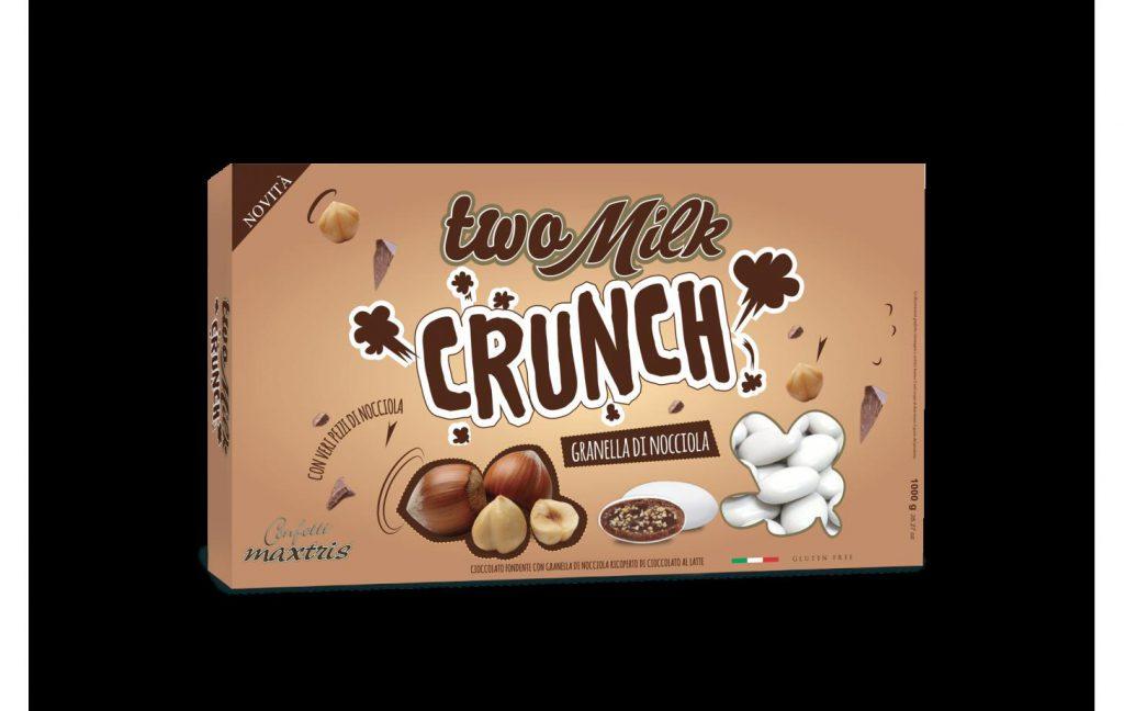 Two Milk Crunch Granella di Nocciola