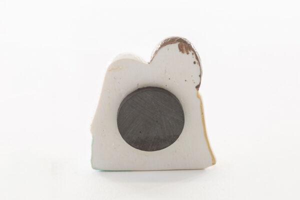 Sacra Famiglia magnete in resina