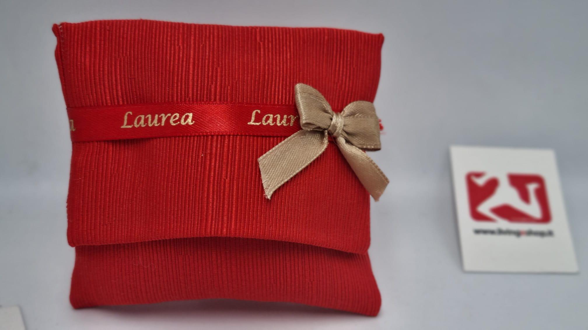 Sacchetto Laurea cannetè rosso