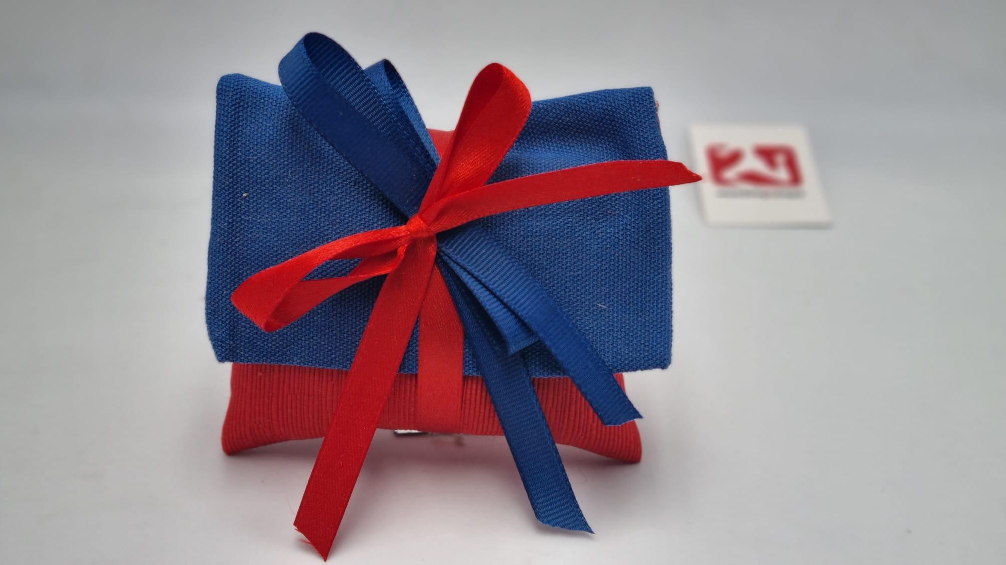 Sacchetto Laurea busta lettere rossa e blu